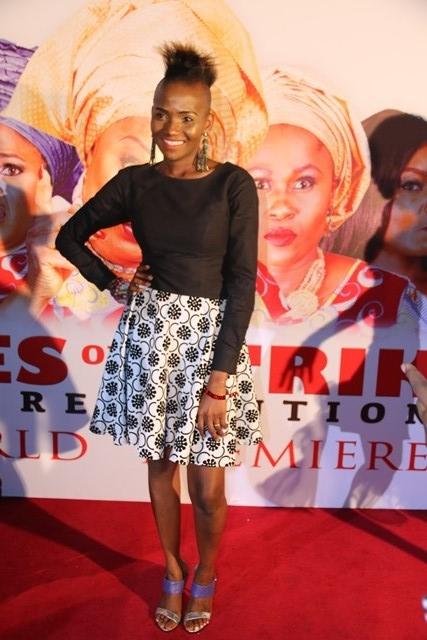 Tony Elumelu, Lai Mohammed, Mo Abudu, Toyin Abraham, Biola Alabi, Ufuoma and others attend Omoni Oboli?s premiere of Wives on Strike Revolution