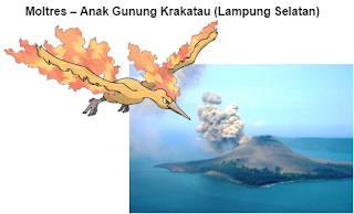Tempat Pokemon Legendaris di Indonesia
