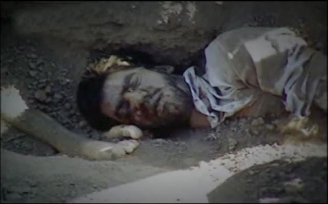 مجاهد شهید یوسف میبدی اولین بار در نیمه دوم مرداد ۱۳۶۷ گورهای جمعی زندانیان سیاسی کشف شد