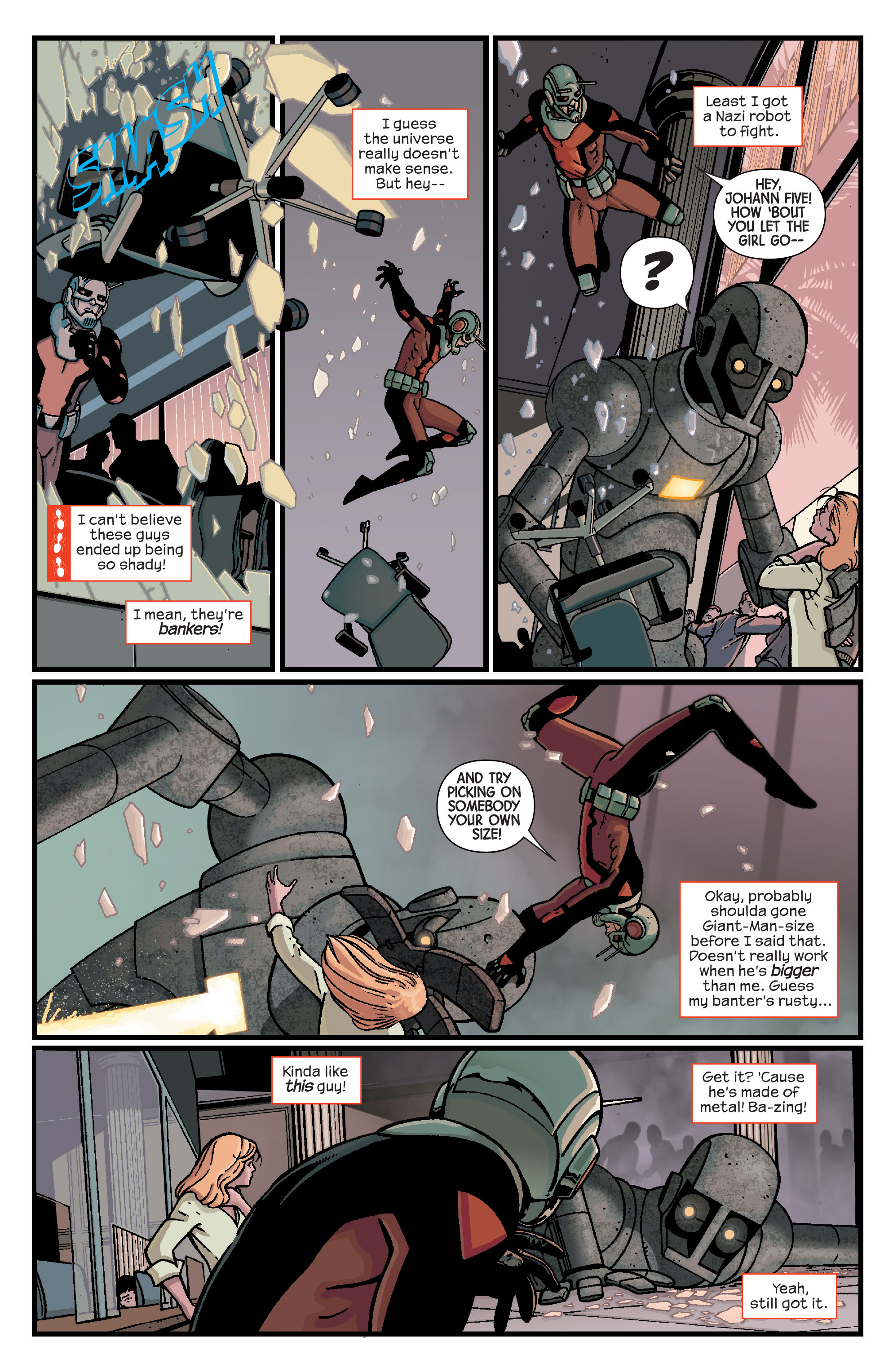 Read online Ant-Man comic -  Issue #2 - 12