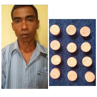 Kedapatan Membawa Narkoba,Zuber Diamankan