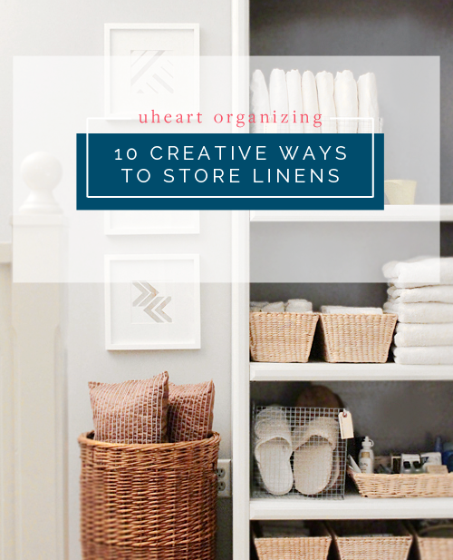 Home Made By Carmona Is Stopping In Today To Share 10 Creative Ways Your Linens And You Don T Need A Specific Linen Closet For Any Of Them