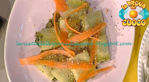 Paccheri ripieni di bietole caprino e carote ricetta Bianchi da Prova del Cuoco