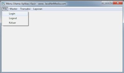 Cara Membuat Menu Utama Aplikasi Kasir VB 6.0