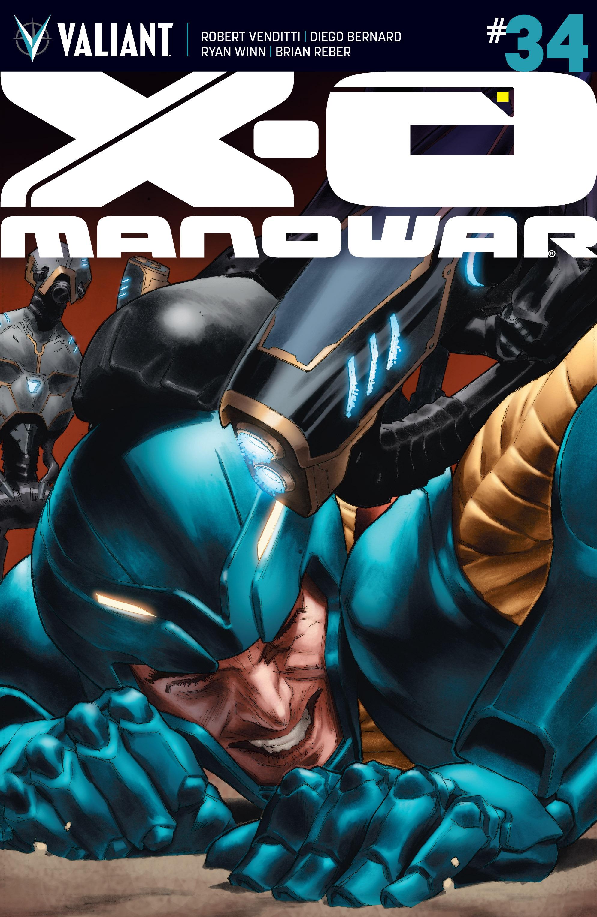 X-O Manowar (2012) 34 Page 1