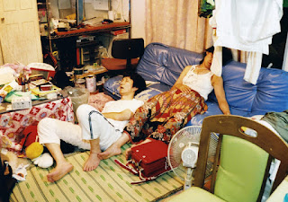 Parents assoupis (Motoyuki Daifu)