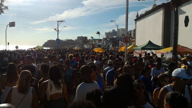 Um mar de gente!