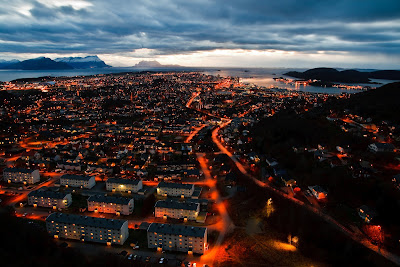 The town of Bodø, Norway