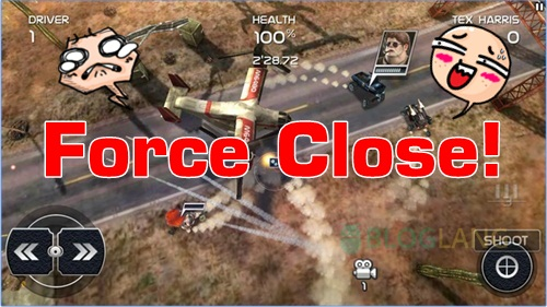 game android keluar sendiri force close