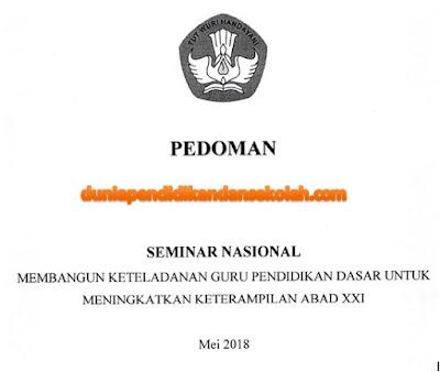 Seminar Nasional Gratis Dari Kementerian Pendidikan Dan Kebudayaan Tahun 2018
