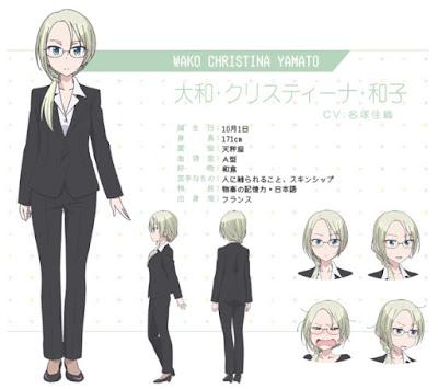 Kaori Nazuka como Wako Christina Yamato