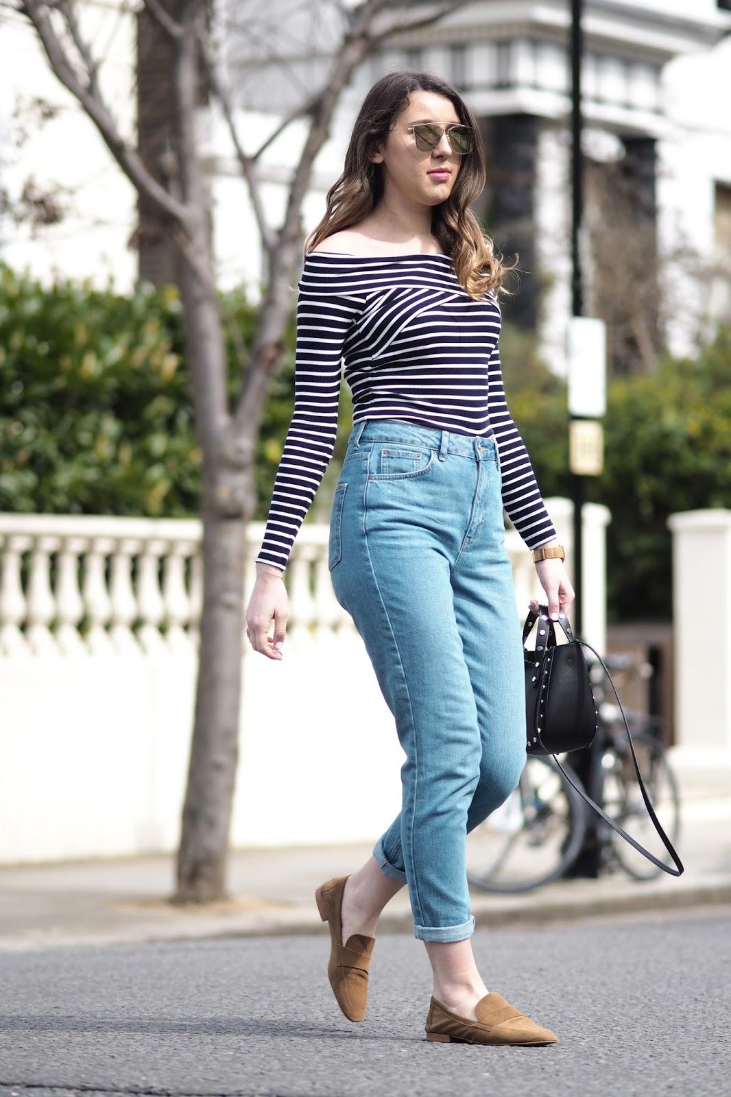topshop 39 mom 39 jeans what 39 s in her wardrobe. Black Bedroom Furniture Sets. Home Design Ideas