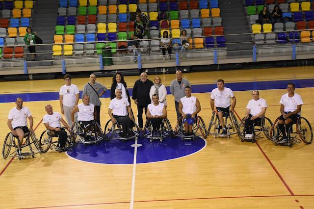 Basket in carrozzina Boys L'Ultima Luna incontra Montescaglioso