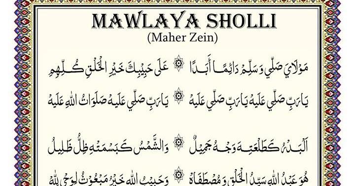 Lirik Mawlaya Sholli | Download MP3