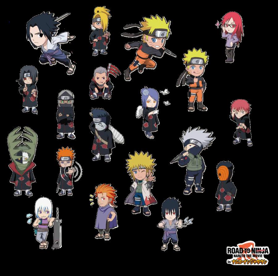 Chibi Naruto Characters | www.pixshark.com - Images ...
