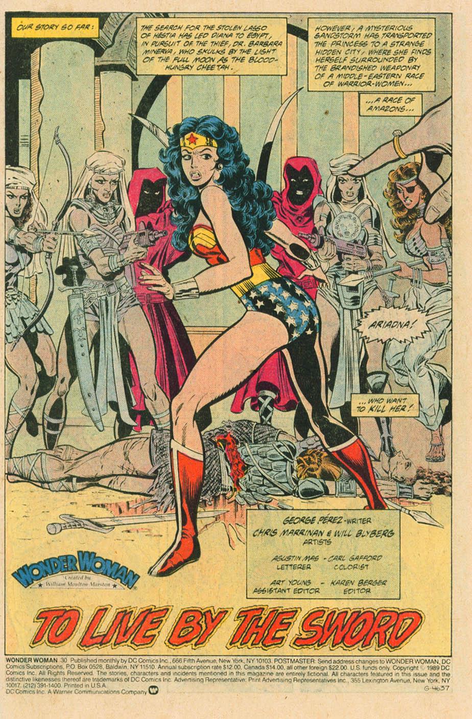 Read online Wonder Woman (1987) comic -  Issue #30 - 3