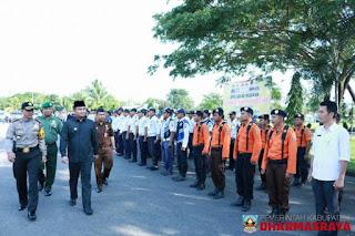 Bupati Sutan Riska Tuanku Kerajaan Pimpin Operasi Ketupat 2018