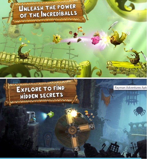Download game android mod - Rayman Adventures Apk v1.4.0