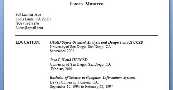 oracle applications programmer analyst sample resume format in word free download