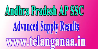 Andhra Pradesh AP 10th Class SSC Supply Results 2017 Released