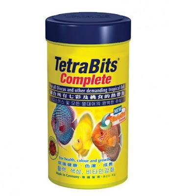 Gambar Pakan Ikan Hias Tetra Bits