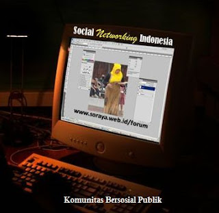 bersosial sosial networking Indonesia
