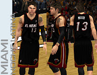 NBA 2K13 Miami Heat Noche Latina Jersey Patch