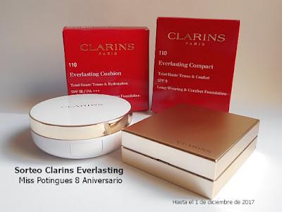 """Everlasting Foundations de Clarins, ¿quieres probarlas"""""""