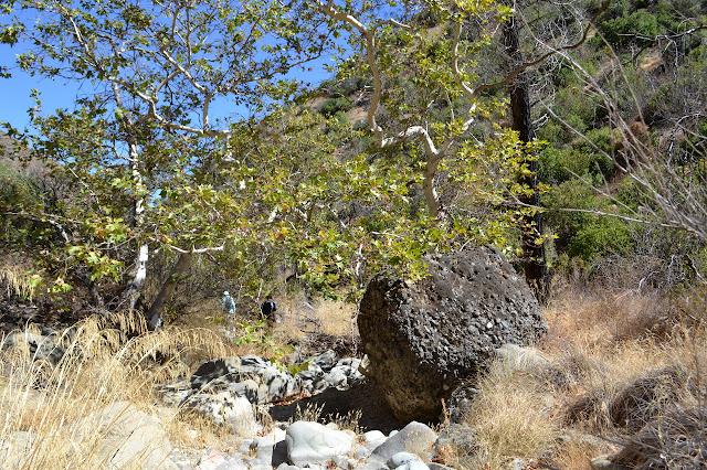 boulder of pebbles