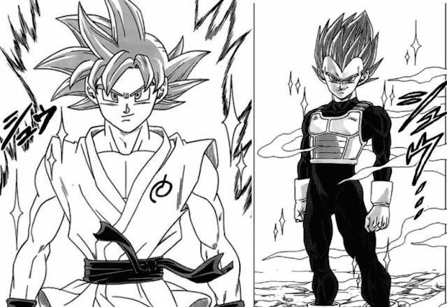 Super Saiyan God Akhirnya kembali lagi di Anime Dragon Ball Super setelah Sekian Lama