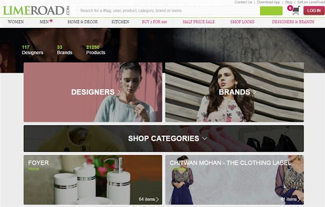 LimeRoad-Online-E-Shopping-Sites