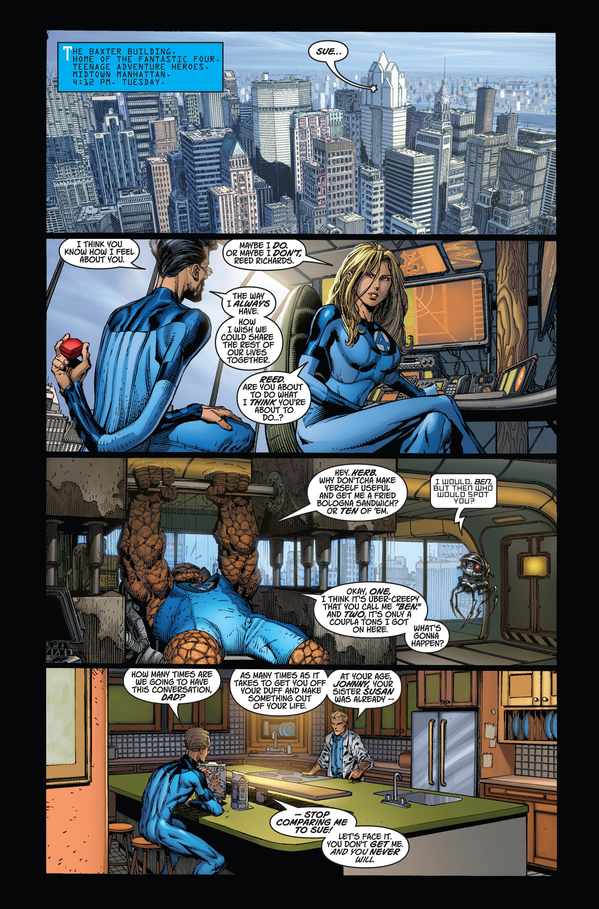 Read online Ultimatum comic -  Issue #1 - 3