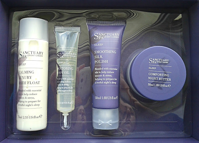 Sanctuary Spa Sleep-In-A-Box (products)
