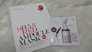 So Natural Red Peel Tingle Serum and ph 5.5 red ampoule mask Review