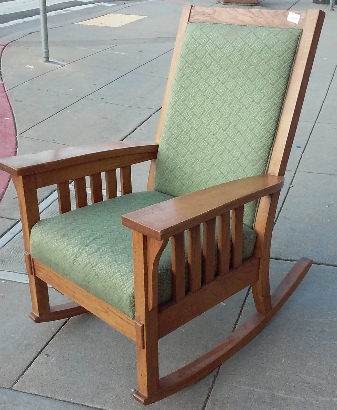 UHURU FURNITURE & COLLECTIBLES: SOLD #11445 Upholstered ...