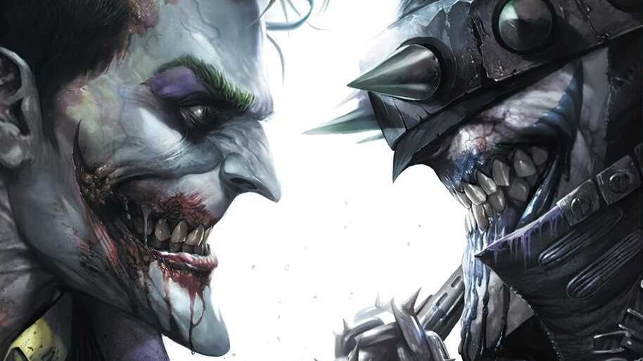 Joker and The Batman Who Laughs, DC, Supervillains, 4K, #6.1219