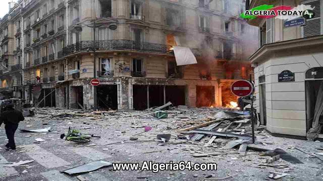إنفجار باريس اليوم