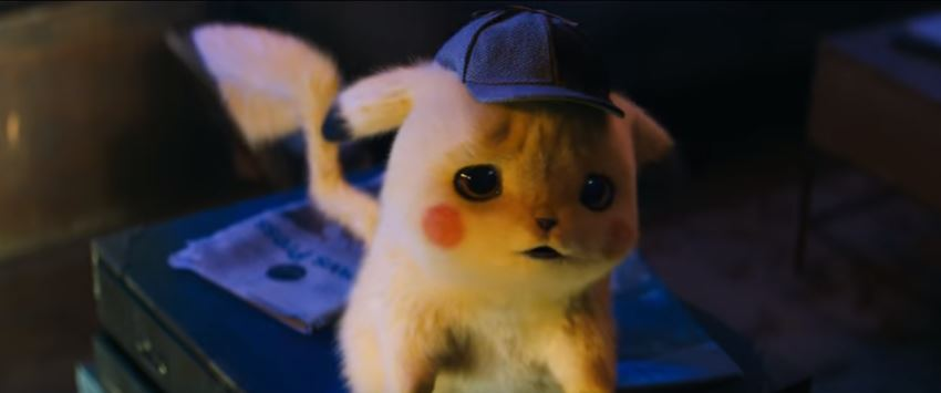 POKÉMON Detective Pikachu 2019 Movie the mystery as to why Tim can understand Detective Pikachu and the search for his missing father