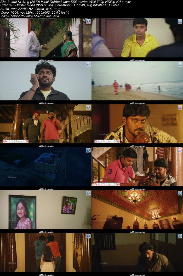 Insaaf Ki Jung (2019) Hindi Dubbed 720p HDRip x264 850MB Movie Download