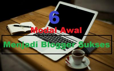 modal awal menjadi blogger sukses