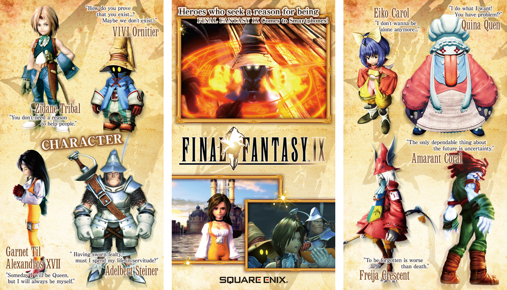 Final Fantasy IX para iOS