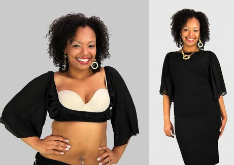 5b1dc4c6c8824 Domestic Sluttery  Plus size solutions  adding sleeves