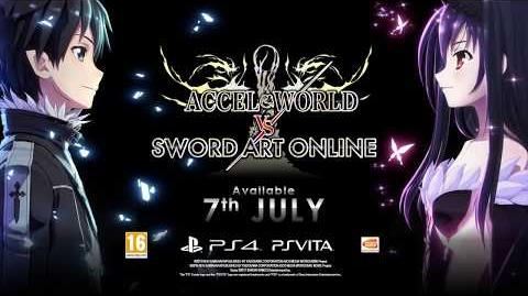 Accel World vs. Sword Art Online ya disponible