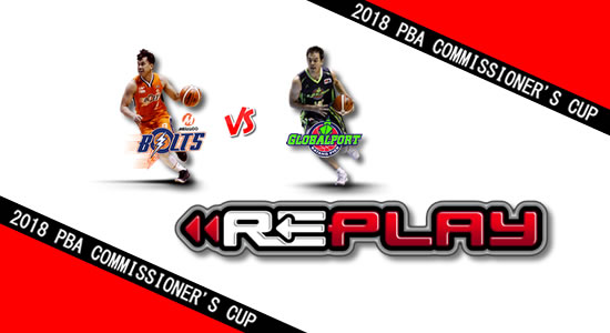 Video Playlist: Meralco vs GlobalPort game replay April 27, 2018 PBA Commissioner's Cup