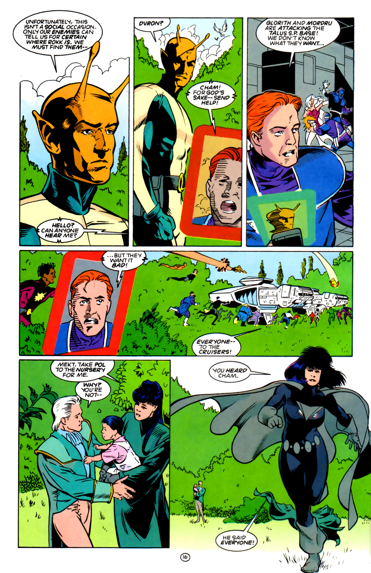 Legion of Super-Heroes (1989) 60 Page 15