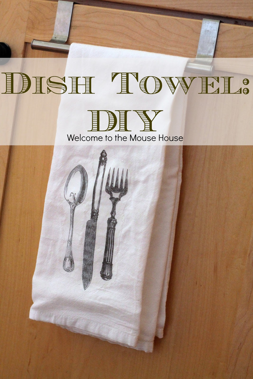 Dish Towel Diy Image Transfer Tutorial