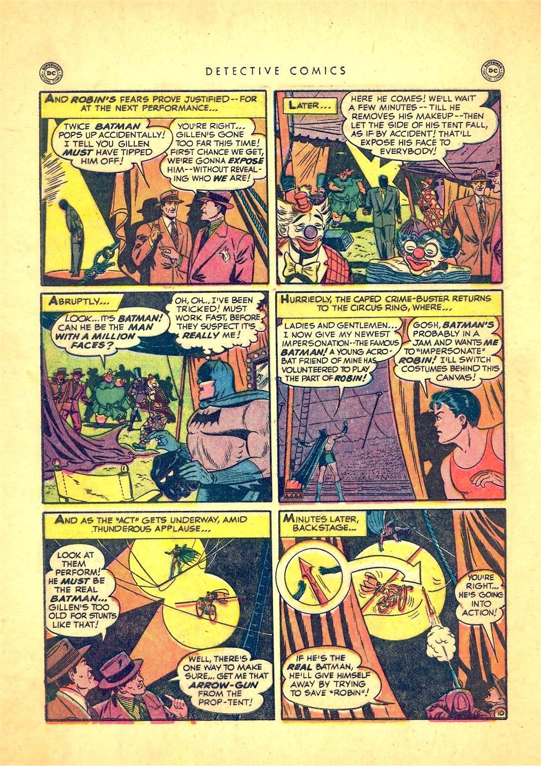 Read online Detective Comics (1937) comic -  Issue #166 - 12