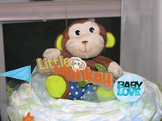 Little Monkey/Jungle Baby Sprinkle- www.thecreativeconfectionista.com