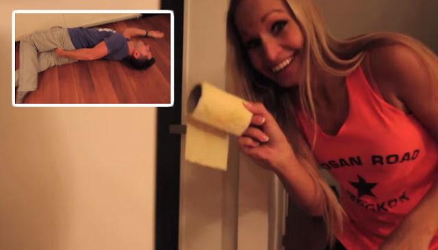 Le echó pimienta en el papel de baño para vengarse
