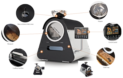 Mesin Pemanggang Kopi Smart Ceramic Coffee Roasters CRF-800
